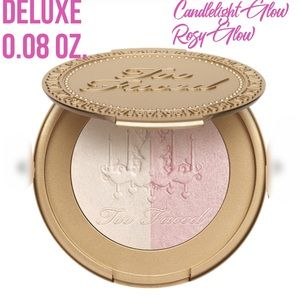 Too Faced Candlelight Glow Highlight Rosy Glow TRV